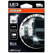 Osram 2824CW-02B Ledriving W5W Premium Iluminación Interior, W2.1x9.5d, 5.2 W, 24.0 V, 6000 K