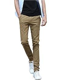 Unknown - Pantalon - Skinny - Homme vert kaki 38