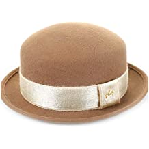 Para sombreros de mujer Otoño Invierno Sombrero de copa de lana europeo y  americano Cúpula retro 202cf6d13c8