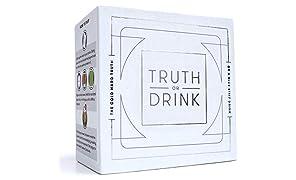 Truth or Drink Verdad o Bebida: Divertido Juego de Cartas para Beber para Adultos, Ideal para Fiestas y Noches de Juegos