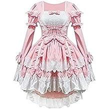 SHINA Mujer Cosplay Lolita gótico Vestidos Vestidos de Noche para la Fiesta