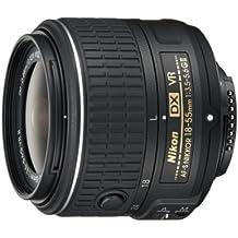 Nikon Nikkor AF-S DX 18-55 mm f:3.5-5.6G VR II - Objetivo para Nikon (Diámetro de 52 mm), negro