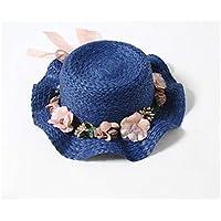 GYwink Cappellino Neonato Cappello da Paglia per Cappello da Passeggio per  Bambini in Frassino con Bordi 859baa79aeb7