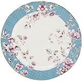 Katie Alice Ditsy Floral azul plato para guarnición