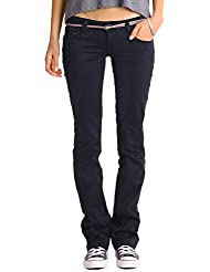 Bestyledberlin Damen Jeans Hosen, Bootcut Jeans j43yz