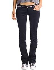 BestyledBerlin - Jeans taille basse évasé femme