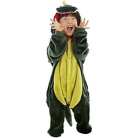 queenshiny kigurumi pijamas unisexo adulto traje disfraz nios animal dinosaurio