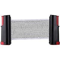 LANGING - 1 Red de Tenis de Mesa retráctil portátil Accesorio de Repuesto para Ping-Pong