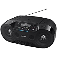 Sony ZS-RS70BTB Digitales CD-Audiosystem (Bluetooth, USB, CD, DAB/DAB+ Funktion, NFC) schwarz