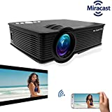 "EGATE i9 MIRACAST LED HD PROJECTOR - HD 1920 X 1080 – HDMI – USB - VGA – 120"" DISPLAY"