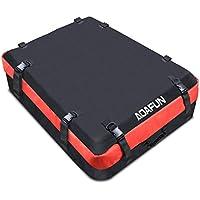 Aoafun Car Roof Bag Cargo Bag: 10 pies cúbicos de almacenamiento Box Roof Top Bag para viajes, viajes largos, vacaciones y equipaje Transporte