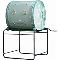 COMPOSTUMBLER Mantis Trommelkomposter Original 635 Liter - Thermokomposter im rostfreiem Stahl, Wetterfest