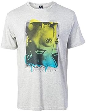 Rip Curl Boobies Marle Tee Camiseta, White, M