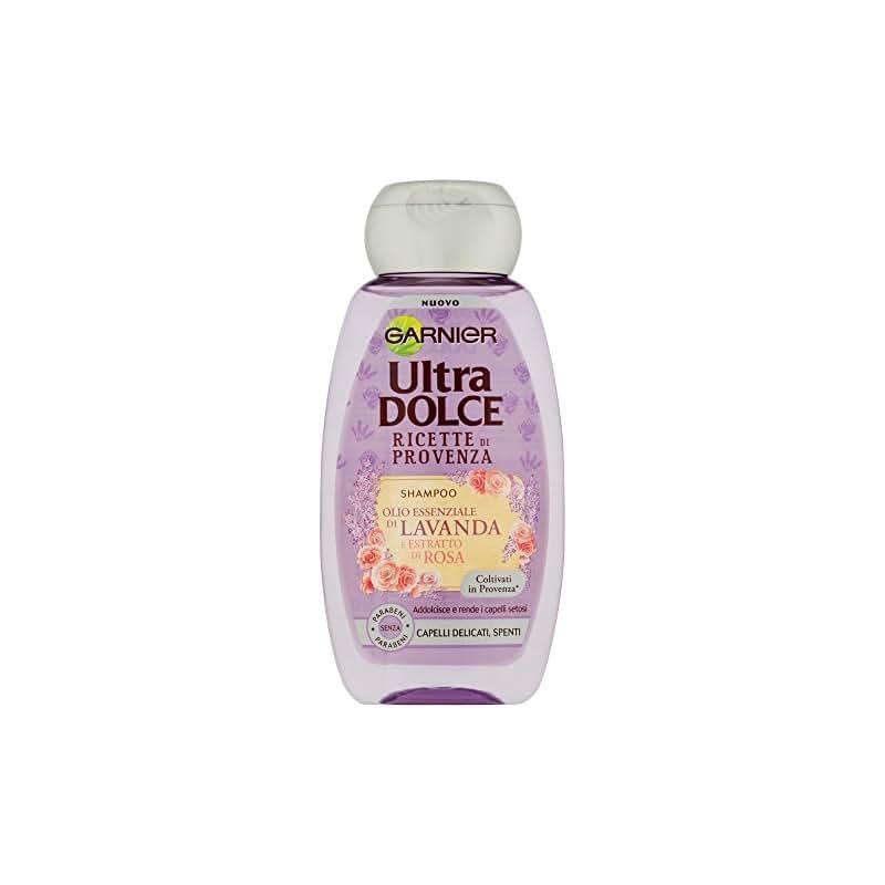 Garnier Ultra Dolce Ricette di Provenza Shampoo per Capelli Delicati Spenti