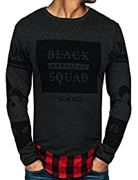 BOLF – Sweat-shirt – Pull de sport – Manches longues – Sweat – Motif – Homme [1A1]