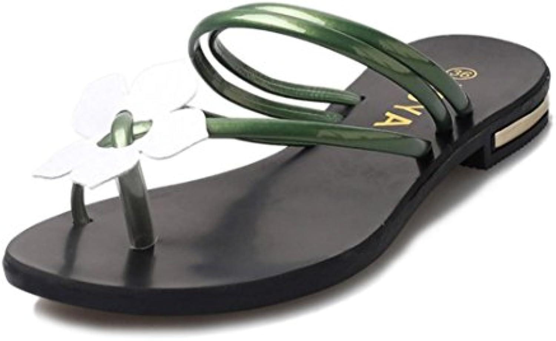 la brezeh femmes sandales, pantoufles des femmes été escarpins escarpins escarpins croûton tongs sandales de plage décontracté... 8cd73f