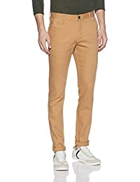 Indigo Nation Men's Straight Fit Casual Trousers