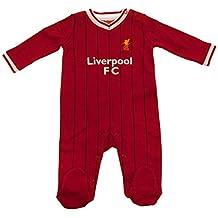 Liverpool FC - Pelele oficial para bebés - Con los colores de la primera equipación -