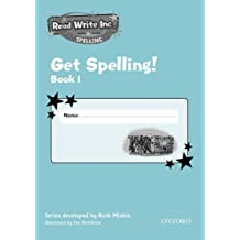 Read Write Inc.: Get Spelling Book 1 Pack of 5