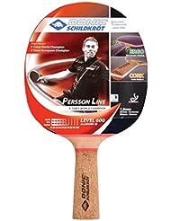 Donic Schildkröt Tischtennis-Schläger PERSSON 600 (mit Kork-Griff), 728461