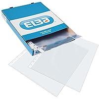 Elba 400068882 - Caja de 100 fundas polipropileno multitaladro, A4