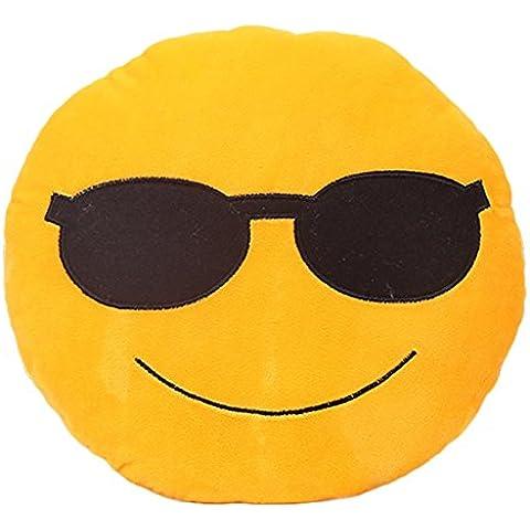 Cool Guapo Emoji Cojín Silla Asiento Almohadilla Cojín Trasero Oficina Resto Almohadilla De La Felpa