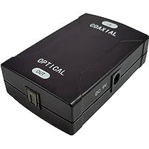 Mondpalast @ RCA a Toslink Convertitore Segnale Audio Coassiale a Ottico Adattatore per DVD TV Amplificatore Scheda Audio