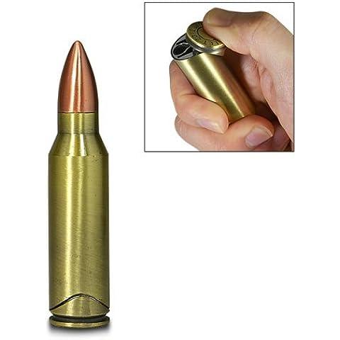 Andonger Generico pallottola pistola sigaro torcia Cigarette Lighter butano metallo riutilizzabile