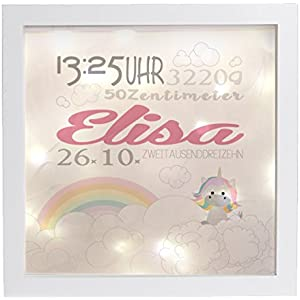 Leuchtrahmen Nachtlicht Wandlicht Lightbox Elisa