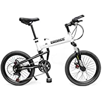LETFF Bicicleta Plegable para Adultos De 20