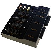 Neuling vak10/S Commutateur péritel avec entrée S-Video