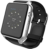Orologio Smart Bluetooth,STOGA Più Suovo Supporto Smart Card Smart Smart Watch di Sweatproof Smart Phone per smartphone Android Smart e Smartphone per Android e IOS (Silver)