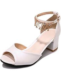 Exposés d'été avec de l'eau taille du foret pour les sandales femme chaussures de princesse.