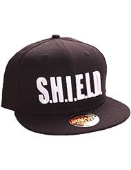 Marvel agents of S.H.I.E.L.D. Logo Casquette Snapback (Noir)