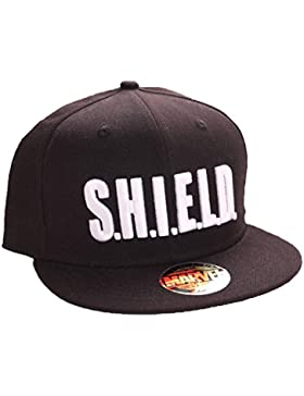 Captain America Adjustable Cappello Shield Text Codi