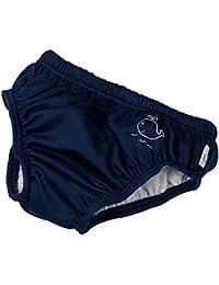 fashy® Badewindelhose Badewindelhöschen in Rot oder Blau geprüft nach Öko-Tex® Standard 100 - Textiles Vertrauen - (Made in Germany)