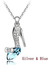 Ukallaite Fashion Wild Cenicienta Elegante Dream Crystal Colgante ❤❤❤❤❤ 8161a7c4cb98