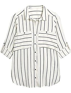 next Mujer Camisa Rayas Petite Top Ropa