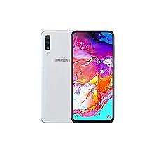 Samsung Galaxy A70 Dual-SIM 128GB 6.7-Inch FHD+ Android 9 Pie UK Version Smartphone - White