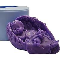 Inception Pro Infinite Molde de Silicona para Uso Artesanal de un Niño Que Duerme en Las