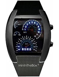 Unisex reloj de los deportes reloj de estilo LED Digital reloj de pulsera Reloj fresco único