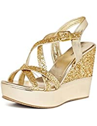1d4a5b75a44 Gold Women s Fashion Sandals  Buy Gold Women s Fashion Sandals ...