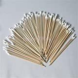 100pcs 15cm Length Beauty Makeup Cotton Swab Cotton Buds Make Up Wooden Sticks Nose Ears Cleaning Cosmetics Health...