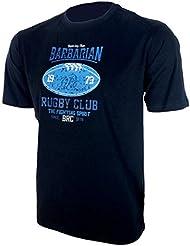 T-Shirt col rond Barbarians Rugby Club - Bleu