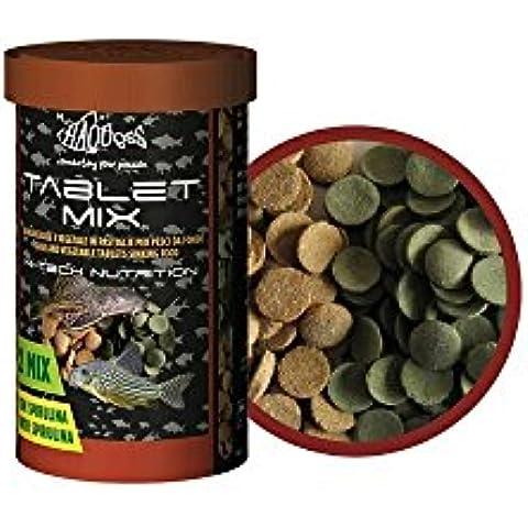 Mangime per pesci da fondo tablet mix 100 (Mangime Per Pesci Animali)