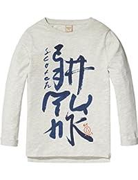 Scotch & Soda Logo Artwork, T-Shirt Garçon