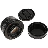 perfk 25mm F1.8 Manueller Fokus Objektiv für Fuji Kamera X-A1, X-A10, X-A2, X-A3, X-M1, XM2, X-T20, X -Pro1, X-Pro2, X-E1, X-E2, X-E2s