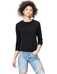 FIND Sweat-Shirt à Manches Raglan Femme