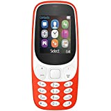 IKALL K3310 Dual Sim Mobile With Money Detector Light, 800 MAh Battery Capacity With 101 Days Replacement Warranty With 1 Year Manufacturer Warranty - Red