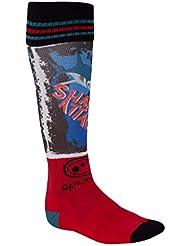 Optimum Hombre Tija de Sox Rugby Calcetines, todo el año, color  - Mehrfarbig - Shark Attack, tamaño no aplicable